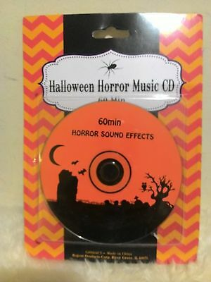 Halloween Horror Music (New with Sealed ! Halloween Horror Music CD 60)