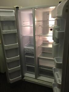 LG double door fridge freezer