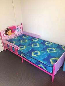 Dora kids single bed with matress in good condition Springwood Logan Area Preview