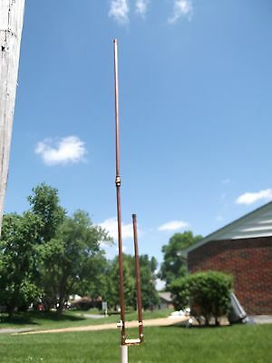 2 Meter Dual Band 2/70 Collapsible Copper J Pole Antenna- Free shipping included