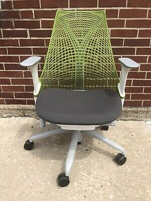 Herman Miller Sayl Office Chair Fixed Arms