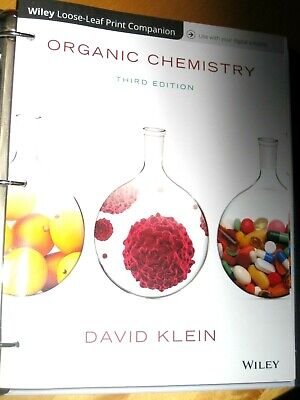 Organic Chemistry by Klein, David R. Third Edition