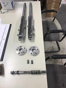 Harley Davidson Narrow wide glide conversion 41mm forks front end suspension