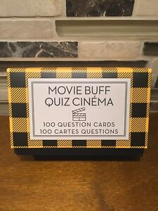 Bell&Curfew - Movie Buff Quiz Cinema - 100 Question Cards
