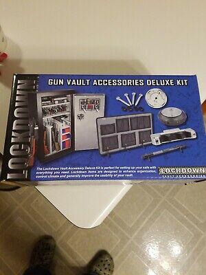 Lockdown Gun Vault Accessories Deluxe Kit for Gun Safes. Brand New in Box