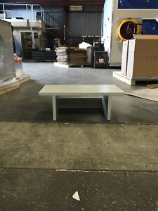 Cubby hole/monitor stand - light grey Cockburn Area Preview