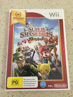 Wii super smash bros brawl