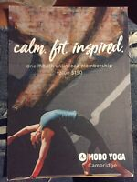Yoga membership $40 (can not use do to injury)