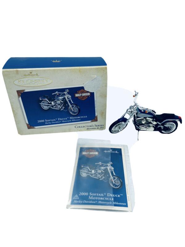 2005 Hallmark 2000 Softail Deuce Motorcycle Harley-Davidson Milestone Series #7
