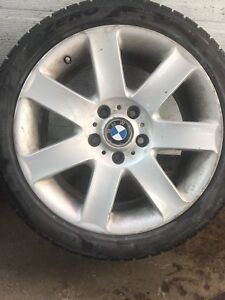 Winter Pirelli 225/45/17 on Bmw mags - great condition