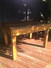 BESPOKE TIMBER PALLET TABLE BENCH - INDUSTRIAL CHIC Tewantin Noosa Area Preview