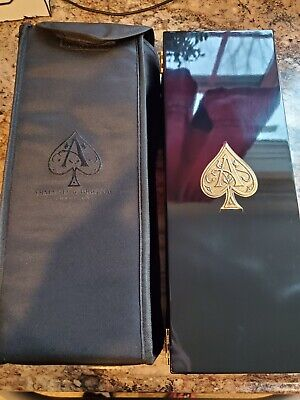🍾 ACE OF SPADES ROSE Armand De Brignac Champagne Empty Bottle Box Sleeve 750ml