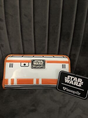 Disney Purse Wallet Loungefly Star Wars BB8 Brand New With Tags