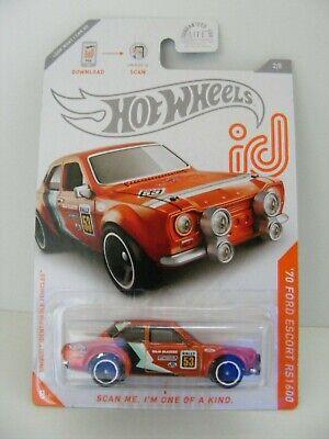 HOT WHEELS ID '70 FORD ESCORT RS1600 BAJA RACERS
