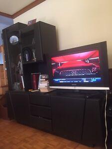 Meuble de télévision - living room TV set