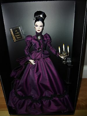 BARBIE  HAUNTED BEAUTY MISTRESS OF THE MANOR DOLL NRFB + SHIPPER GOLD LABEL  on Rummage