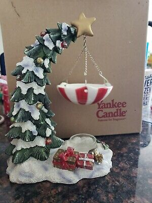 Yankee Candle Snow Capped Christmas Tree Gifts Hanging Wax Tart Burner Warmer