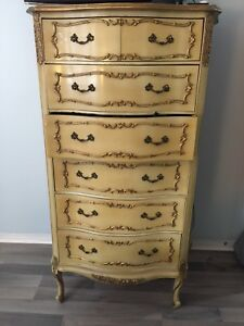Gorgeous TALL Victorian style dresser  **SMOKE FREE HOME**