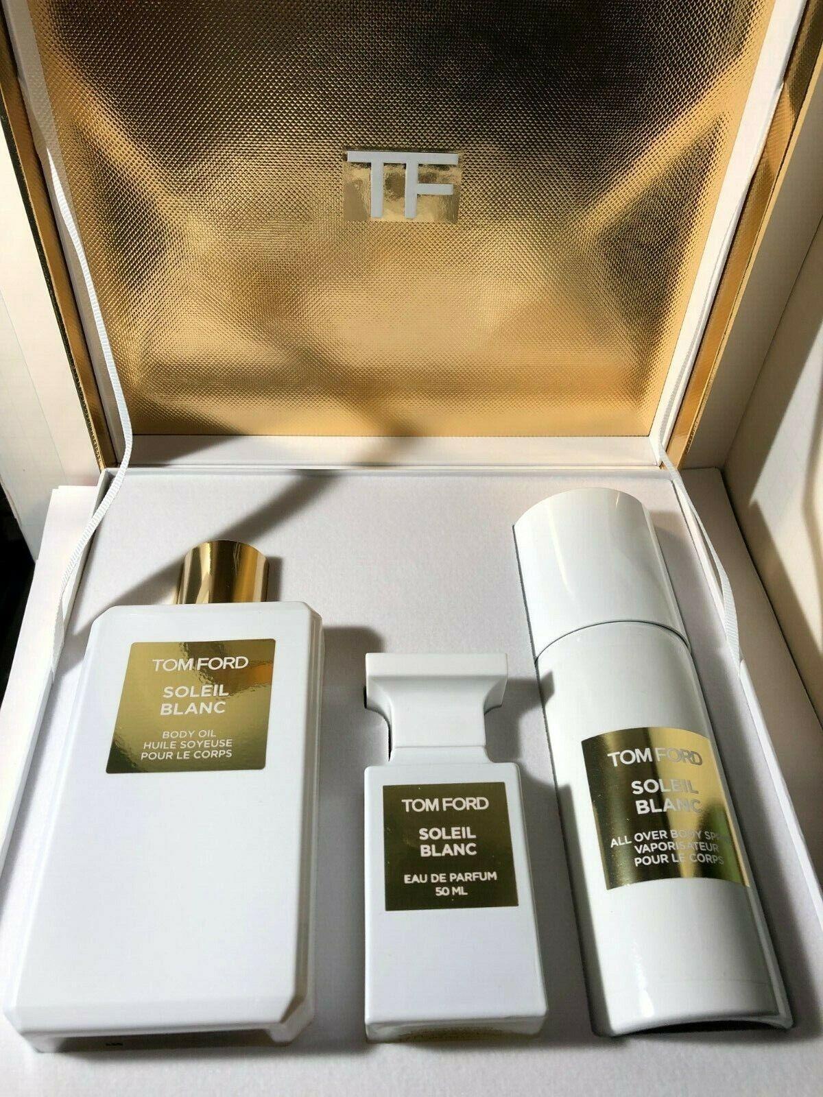 Tom Ford Soleil Weiß Parfüm Parfum Geschenkverpackung Set Duft für Private Blend