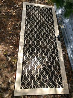 Aluminium Security screen door