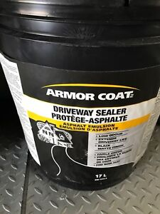 For sale driveway armor coating. Brand new.