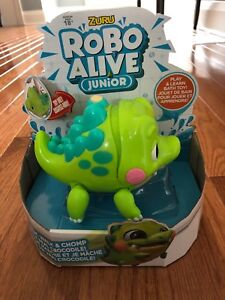 New robo alive croc bath water toy!!