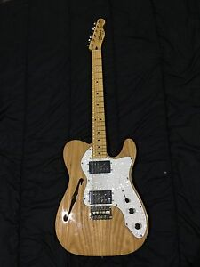 Squier Vintage Modified 72 Telecaster Thinline - Maple Neck (Natural) Blacktown Blacktown Area Preview