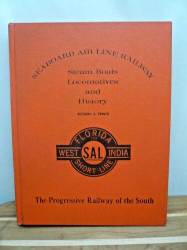 Seaboard Air Line Railway by Richard Prince, Steam Boats Locomotives History HC