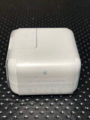 100% Genuine Original Apple iPad 4th Gen - 12W USB Power Adapter Charger (A1401)