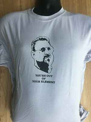 Big Lebowski Bowling Shirt (BIG LEBOWSKI YOU'RE OUT OF YOUR ELEMENT walter bowling t-shirt SOBCHAK DUDE)