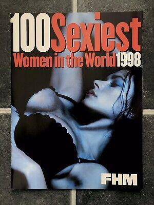 FMH 100 SEXIEST WOMEN Photo 1998 YASMINE BLEETH SALMA HAYEK NEVE CAMPBELL