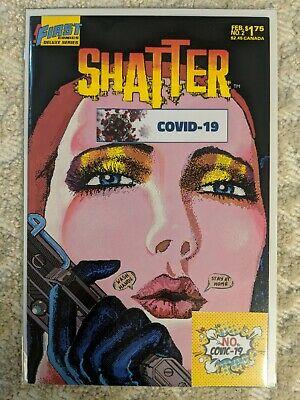 Shatter #2, mixed media, original art, FREE SHIPPING 👌