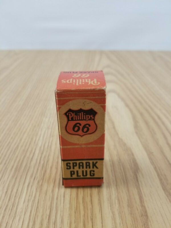 Vintage Phillips 66 78-3 Spark Plug NOS advertising motor oil gas display sign