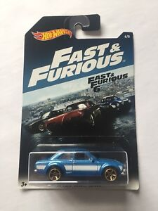 Hotwheels fast and furious 6 ford escort rs1600