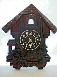 Unique Decorative Wall Clock Cuckoo Clock Design w/ New HD-1688 Quartz Movement