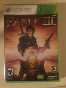 UNOPENED Fable 3 for XBOX 369