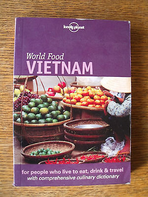 Vietnam World Food Lonely Planet (in inglese) BA/1
