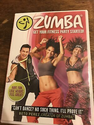Zumba Get Your Fitness Party Started - Dance / Exercise Workout (DVD) VGC