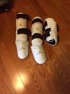 Martial arts  shin and arm pads