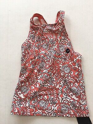 Abercrombie Kids Floral Tankini Top Only Girls Size 7/8