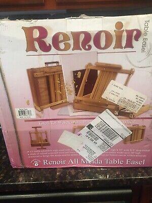 Renoir Table Easel Sketchbox Metal Lined Drawer - Open Box Metal Table Easel
