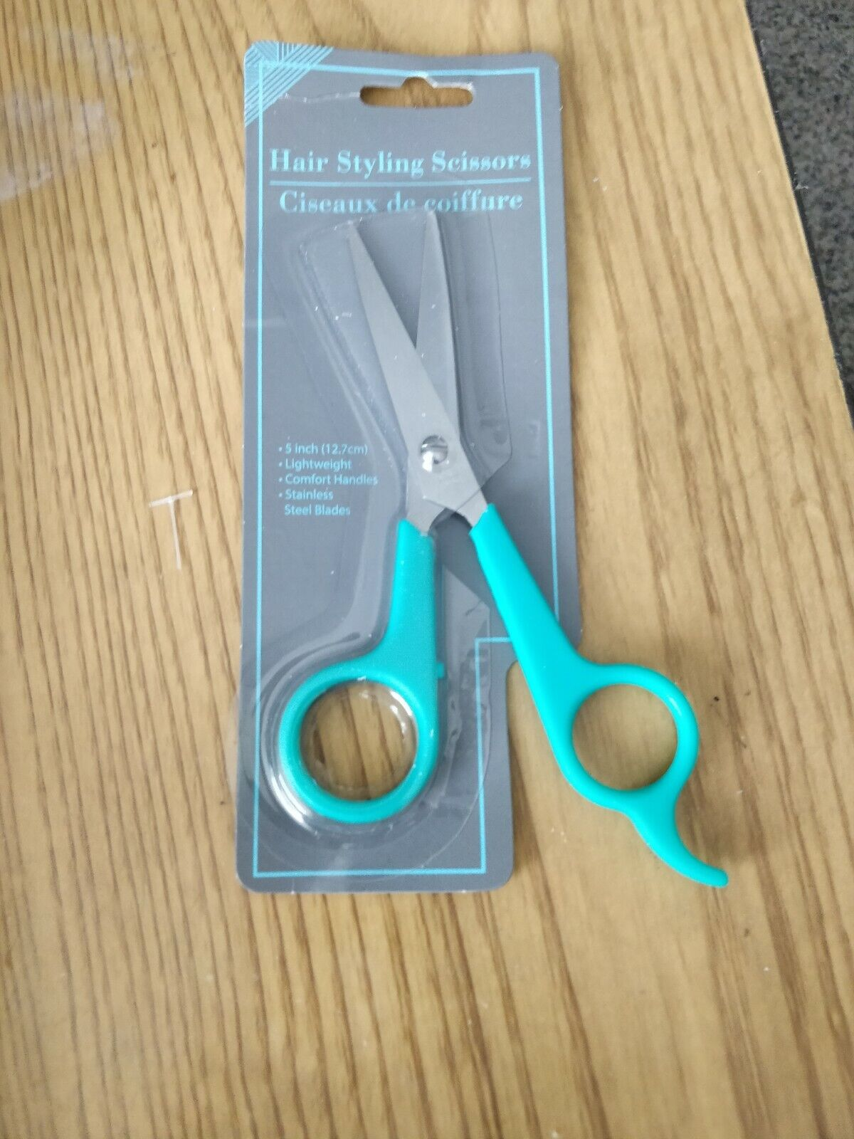 5 inch stainless steel hair cutting sewing