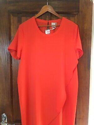 ICHI Ladies Orange Dress Size 42 BNWT