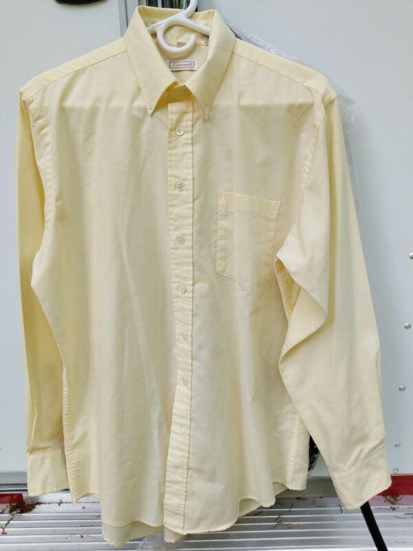 Ladies long sleeve Yellow Saddleseat shirt size 16R