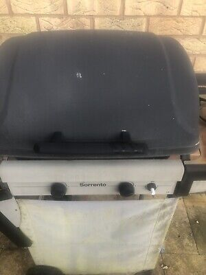 gas bbq used