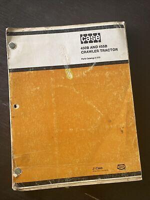 Case 450b 455b Crawler Tractor Dozer Bulldozer Loader Parts Catalog Manual Book