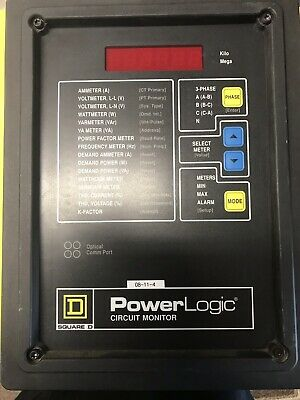 Square D Cm-2250 Class 3020 Power Logic Circuit Monitor