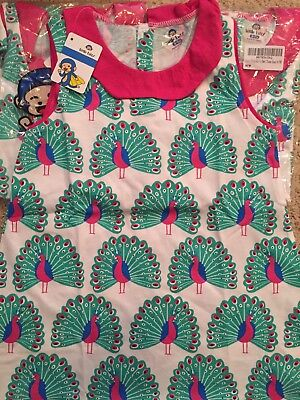 Child's Dress, adorable peacocks, Little Bitty,  for 6-7 Year Old Girl (Peacock Dresses For Girls)