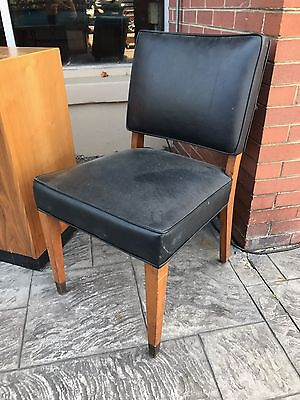 Vintage Mid Century Side Chair by Louis Bursk LA Designer