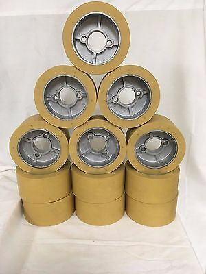 Rubber Power Feeder Roller Wheels Ro-12 Set Of 12 For Most 1hp Feeders